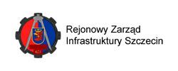 Logo rejonowego zarządu infrastruktury w Szczecinie z którym współparcował Euro Komplex