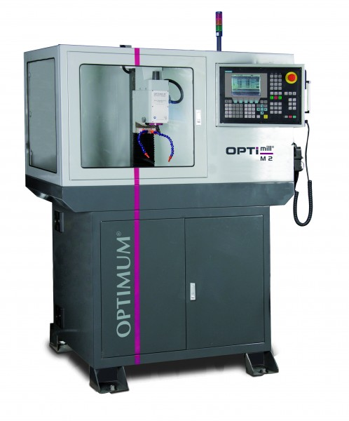 obrabiarki do metalu frezarka optimum cnc opti m 2