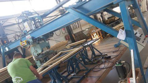 prasa do produkcji dachow szkieletowych pokaz