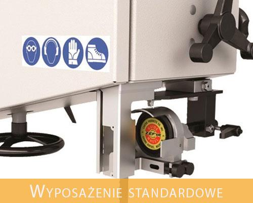euro komplex pila tasmowa centauro co 800 wyposazenie standardowe