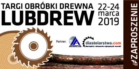 lublin targi obrobki drewna lubdrew euro komplex maszyny stolarskie zaproszenie
