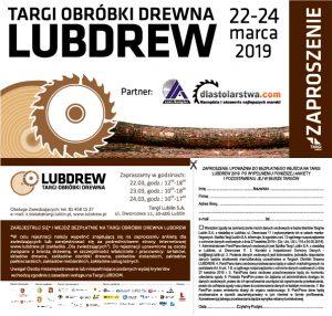 lublin targi obrobki drewna lubdrew euro komplex zaproszenie maszyny stolarskie