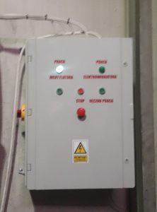 cenralny odciag trocin z powrotem powietrza szafa sterownicza wentylatorem elektrowibracja